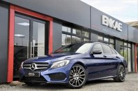 """USED 2017 17 MERCEDES-BENZ C CLASS 2.1 C250 D AMG LINE PREMIUM PLUS 4d AUTO 204 BHP C43 REPLICA*PREMIUM PLUS*PAN ROOF*BRILLIANT BLUE*BERMIESTER SOUND SYSTEM*WIDE NAVIGATION*REVERSE CAMERA*ELECTRIC CLOSE SOFT BOOT*19""""C43 STYLE ALLOYS*C43 REAR BUMPER*BLACK PACK*C43 BLACK BADGES*HEATED ELECTRIC SEATS*PRIVACY GLASS VAT QUALIFYING*1 OWNER FROM NEW"""