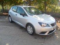 2014 SEAT IBIZA 1.2 CR TDI ECOMOTIVE S AC 5d 74 BHP £4995.00