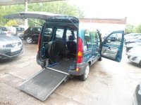 2009 RENAULT KANGOO 1.1 AUTHENTIQUE 16V WHEELCHAIR ADAPTED £3695.00