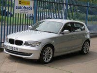 "2009 BMW 1 SERIES 2.0 120I SE 5dr Bluetooth Front & rear park 18"" Alloys Folding mirrors £5000.00"