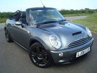 2006 MINI CONVERTIBLE 1.6 COOPER S 2d 168 BHP £2495.00