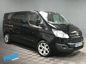 2014 FORD TRANSIT CUSTOM 2.2 290 LIMITED L2H1 DCB  £12500.00
