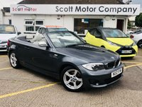2012 BMW 1 SERIES 2.0 118I Exclusive Edition Convertible £7699.00