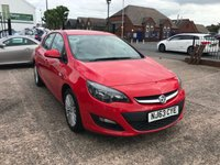"USED 2013 63 VAUXHALL ASTRA 1.4 ENERGY 5d 98 BHP 1 OWNER-12 MONTHS MOT-1.4 PETROL-5 DOOR-AIR CON-17""ALLOYS"