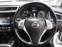 USED 2014 14 NISSAN QASHQAI 1.5 DCI TEKNA 5d 108 BHP ONE OWNER WITH FULL SERVICE HISTORY, SAT NAV, HEATED LEATHER, REVERSE CAM
