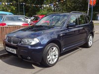 2006 BMW X3 2.0 D M SPORT 5dr 4X4, PARKING SENSORS £3695.00