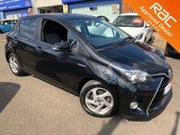 2016 TOYOTA YARIS 1.5 VVT-I ICON M-DRIVE S 5d AUTO 73 BHP £10495.00
