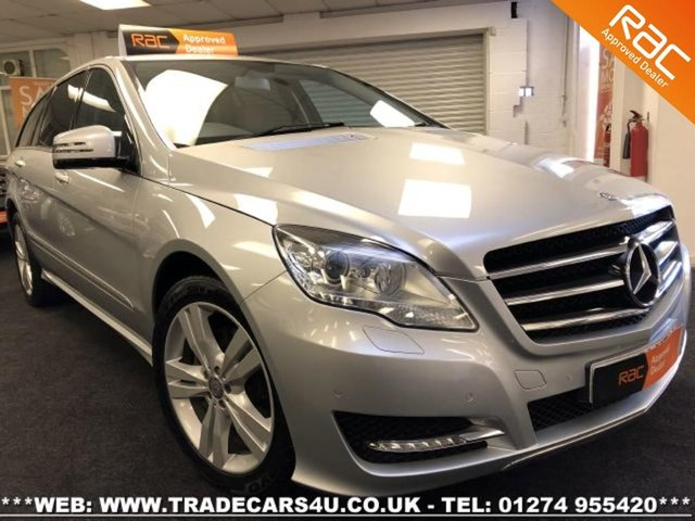 2011 61 MERCEDES-BENZ R CLASS  R350L CDI 4X4 4MATIC LIMO BASE 7 SEATER