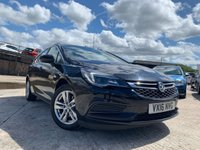USED 2016 16 VAUXHALL ASTRA 1.6 DESIGN CDTI ECOFLEX S/S 5d 108 BHP 2KEYS+ALLOY+CLEANCAR+NEWSHAPE+O ROAD TAX+SUNROOF+AIRCON+HISTORY+