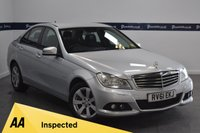 USED 2011 61 MERCEDES-BENZ C CLASS 2.1 C220 CDI BLUEEFFICIENCY SE EDITION 125 4d 170 BHP (SAT NAV - BLUETOOTH)