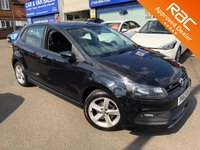 2013 VOLKSWAGEN POLO 1.2 R-LINE STYLE 5d 60 BHP £6495.00