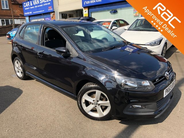 2013 63 VOLKSWAGEN POLO 1.2 R-LINE STYLE 5d 60 BHP