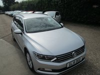 USED 2015 15 VOLKSWAGEN PASSAT 2.0 S TDI BLUEMOTION TECHNOLOGY DSG 5d AUTO 148 BHP ONLY £30 FOR 12 MONTHS ROAD TAX
