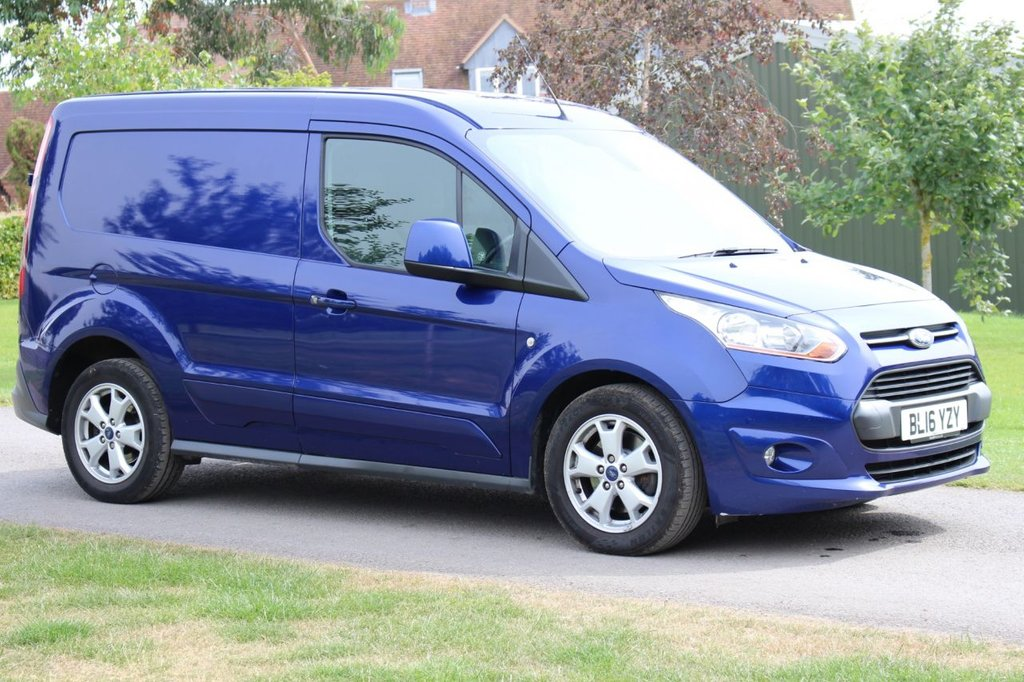 USED 2016 16 FORD TRANSIT CONNECT 1.6 200 LIMITED P/V 1d 114 BHP ** NO VAT ** Complementary Warranty