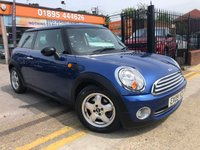 2009 MINI HATCH ONE 1.4 ONE 3d 94 BHP VERY LOW MILEAGE/SERVICE HISTORY. £4000.00