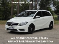 2012 MERCEDES-BENZ B CLASS 1.8 B180 CDI BLUEEFFICIENCY SPORT 5d 109 BHP £8795.00