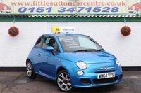 2014 FIAT 500 1.2 S 3d 69 BHP £5000.00
