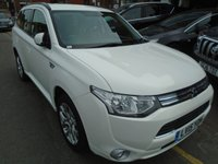 USED 2015 15 MITSUBISHI OUTLANDER 2.0 PHEV GX 3H 5d AUTO 162 BHP, ULEZ EXEMPT ONLY 31,000 MILES!