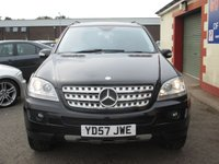 USED 2007 57 MERCEDES-BENZ M CLASS 3.0 ML280 CDI EDITION S 5d AUTO 188 BHP FULL SERVICE HISTORY - SEE IMAGES