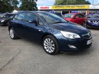 2010 VAUXHALL ASTRA 1.6 EXCLUSIV 5 DOOR 113 BHP IN BLUE 66K MILES ONE OWNER FULL SERVICE HISTORY EXCELLENT CONDITION £3499.00