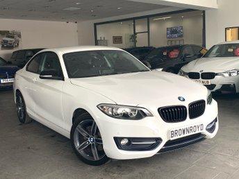 2017 BMW 2 SERIES 2.0 218D SPORT 2d 148 BHP £15990.00