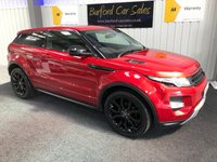 USED 2015 64 LAND ROVER RANGE ROVER EVOQUE 2.2 SD4 DYNAMIC LUX 3d AUTO 190 BHP