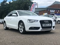 USED 2013 63 AUDI A5 2.0 SPORTBACK TDI SE TECHNIK 5d AUTO 174 BHP NAVIGATION SYSTEM *  LEATHER TRIM *  PRIVACY GLASS *  PARKING AID *  1 OWNER FROM NEW *  FULL YEAR MOT *