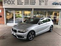 2015 BMW 1 SERIES 1.5 116D SPORT 3d 114 BHP £10995.00