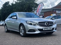 USED 2016 65 MERCEDES-BENZ E CLASS 2.1 E220 BLUETEC SE 4d AUTO 174 BHP NAVIGATION SYSTEM *  LEATHER TRIM *  PARKING AID *  BLUETOOTH *  FULL YEAR MOT *