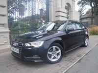 USED 2015 65 AUDI A3 1.6 TDI ULTRA SE 5d 109 BHP ****FINANCE ARRANGED****PART EXCHANGE WELCOME***1 OWNER*£0 FREE TAX*NAV*BLUETOOTH*STOP/START*CD PLAYER*A/C