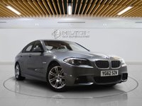 USED 2012 62 BMW 5 SERIES 2.0 520D M SPORT 4d AUTO 181 BHP SAT NAV | LEATHERS | VISIBILITY PACK