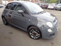 2013 FIAT 500 1.2 S 3d 69 BHP £4695.00