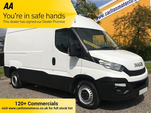 2015 64 IVECO DAILY 2.3 35S11 High Roof [ MOBILE WORKSHOP ] Van RWD 3250wb