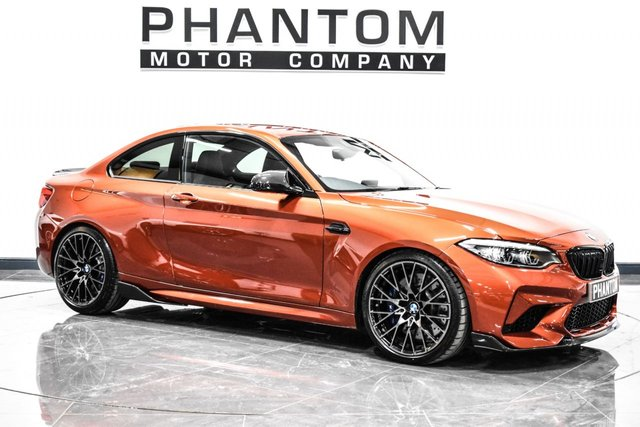 USED 2018 BMW M2 3.0 M2 COMPETITION 2d 405 BHP