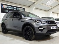 2016 LAND ROVER DISCOVERY SPORT 2.0 TD4 HSE BLACK 5d AUTO 180 BHP £19880.00