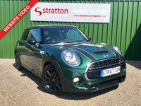 USED 2016 16 MINI HATCH COOPER 2.0 COOPER S 3d 189 BHP