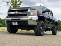 USED 2010 10 CHEVROLET SILVERADO 6.6L DIESEL ALLISON DURAMAX DOUBLE CAB MONSTER ENERGY SHOW TRUCK 1 OWNER+LIFTED+UPGRADED SOUND+