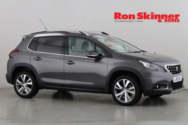 View our 2018 18 PEUGEOT 2008 1.2 PURETECH S/S ALLURE 5d 110 BHP
