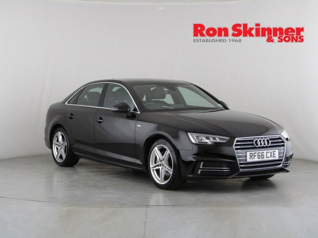 View our 2016 66 AUDI A4 2.0 TDI ULTRA S LINE 4d 188 BHP