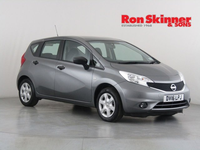 View our 2016 16 NISSAN NOTE 1.2 VISIA 5d 80 BHP