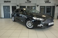 "USED 2016 16 FORD MONDEO 1.5 TITANIUM ECONETIC TDCI 5d 114 BHP FINISHED IN STUNNING SHADOW BLACK WITH FULL CLOTH SEATS + FULL SERVICE HISTORY + SATELLITE NAVIGATION + WINTER PACKAGE + HEATED FRONT SEATS + HEATED STEERING WHEEL + BLUETOOTH + LED DAYTIME RUNNING LIGHTS + FORD SYNC 3 WITH 8"" COLOUR TOUCH SCREEN + FRONT/REAR PARKING SENSORS + ELECTRIC FOLDING DOOR MIRRORS + 16"" ALLOY WHEELS"