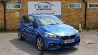 2016 BMW 2 SERIES 2.0 218D M SPORT ACTIVE TOURER 5d AUTO 148 BHP £14984.00