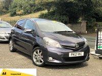 2012 TOYOTA YARIS 1.3 VVT-I SR 5d 98 BHP £4990.00
