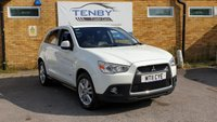 2011 MITSUBISHI ASX 1.8 4 ClearTec 5dr 4WD £5484.00