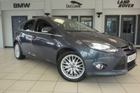 USED 2014 63 FORD FOCUS 1.0 ZETEC 5d 99 BHP FINISHED IN STUNNING GREY WITH FULL CLOTH SEATS + DAB RADIO + BLUETOOTH + HEATED WINDSCREEN + AIR CONDITIONING + ALLOY WHEELS