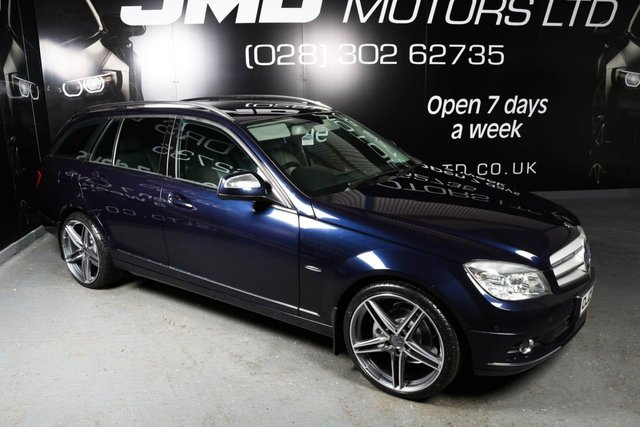2008 MERCEDES-BENZ C CLASS C220 CDI ELEGANCE NIGHT EDITION STYLE AUTO 168 BHP (FINANCE AND WARRANTY)