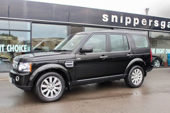2013 LAND ROVER DISCOVERY 3.0 4 SDV6 XS 5d AUTO 255 BHP £21490.00