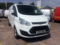 USED 2016 66 FORD TRANSIT CUSTOM SWB 2.0 290 L2 LIMITED LR 170 BHP 1 OWNER FSH  MANUFACTURER'S WARRANTY EURO 6 AIR CONDITIONING BLUETOOTH CRUISE CONTROL ELECTRIC WINDOWS AND MIRRORS PARKING SENSORS 6 SPEED SPARE KEY