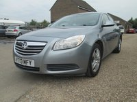 USED 2013 13 VAUXHALL INSIGNIA 2.0 CDTi EXCLUSIVE HATCHBACK 130 BHP CLIMATE CONTROL - VOICE CONTROL