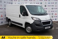USED 2016 16 PEUGEOT BOXER 2.2 HDI 333 L1H1 PROFESSIONAL P/V 1d 110 BHP 1 OWNER,FSH,NAV,AIR CON,3 SEAT